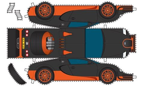 bugatti papercraft template related keywords bugatti