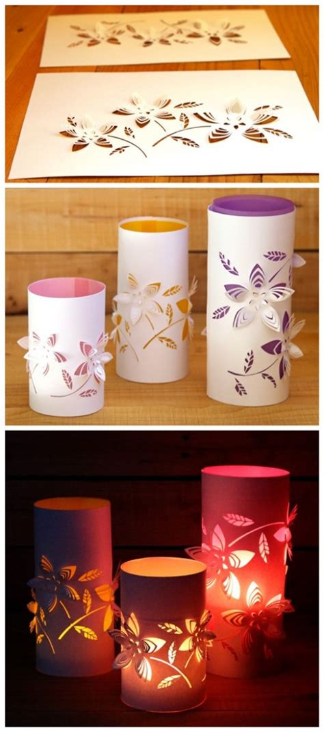 Decorating Ideas To Sell Your House Diy Dimensional Paper Lanterns Tutorial Diy Tag