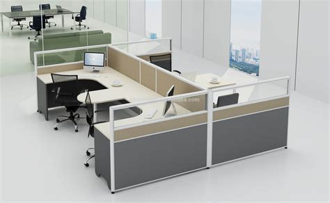 workstation table design practical office workstation office partition glass wall