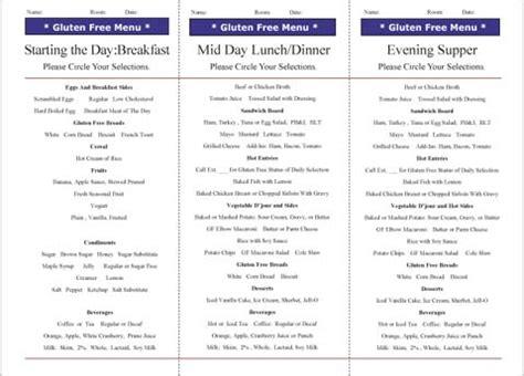 gluten free diets are you prepared i advance senior care
