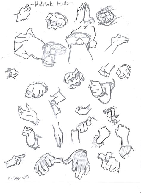 how to draw hands 35 tutorials how tos step by steps medabots hands tutorial by hikaruagata on deviantart