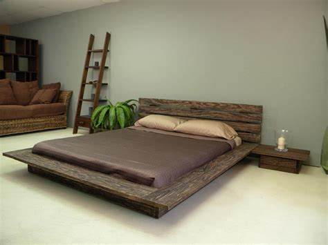 low wood bed frame delta low profile platform bed