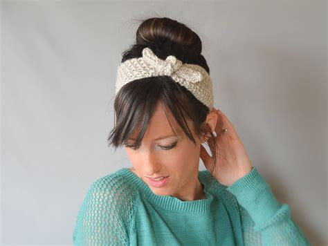 knitting patterns for headbands vintage knit tie headband pattern in a stitch