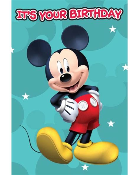 Free Printable Mickey Mouse Birthday Cards Luxury - mickey mouse printable birthday cards free printable