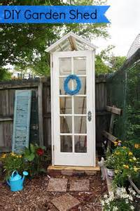 Garden Shed Windows And Doors by Diy Garden Shed Gardening And Bird Houses