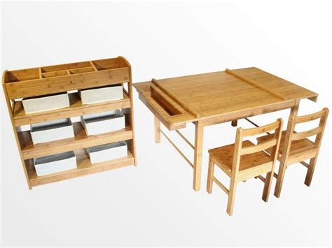 Table And Chairs With Storage by Childrens Table And Two Chairs Arts And Crafts Activity Table Playroom Storage Ebay
