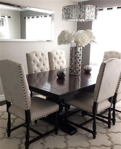 how to decorate dining room these pin tuft chairs are really for the dining room