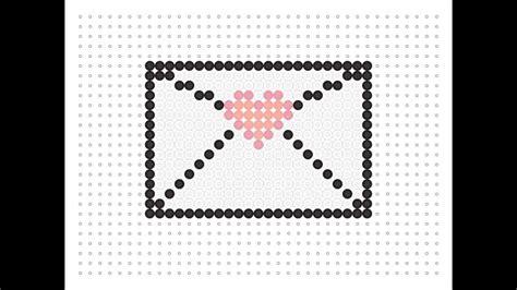 hama bead letter templates hama bead letter valentines series 7