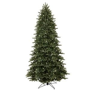 tree with just lights ge 9 ft pre lit led just cut frasier fir artificial