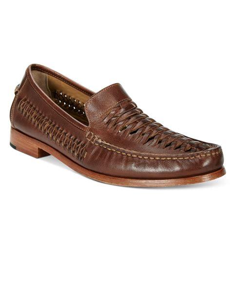 johnston and murphy venetian loafer johnston murphy s danbury woven venetian loafers in