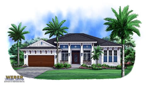 West Indies House Plan Carmona House Plan Weber Design West Indies Style House Plans