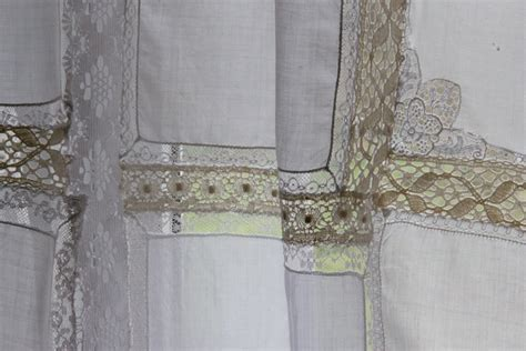 shabby chic curtain shabby chic curtains sea green and sapphire