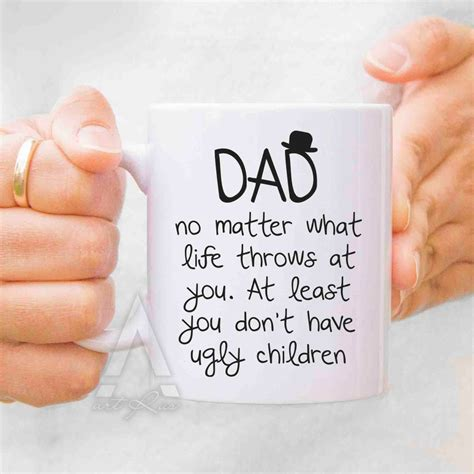 gift for dad fathers day gift from daughter father mug dad mug gift