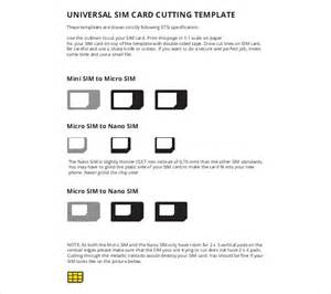 sim card template pdf micro sim template 10 free word pdf documents free premium templates