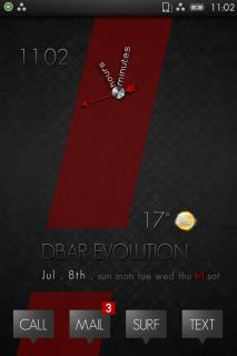 themes apple clock download dbar evolution clock iphone theme apple theme