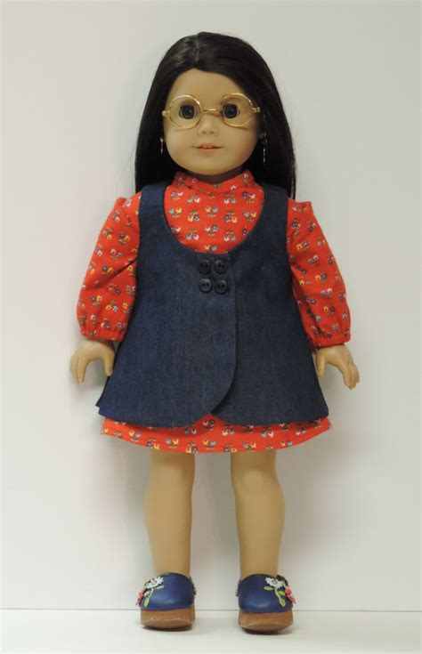 Wardrobe For Dolls Clothes 18 Inch by 18 Inch Doll Clothes Dress Jumper