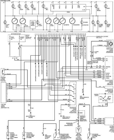 wiring diagram for instrument cluster ls1tech camaro and firebird forum discussion diagram on wiring chevrolet camaro 1997 instrument cluster wiring diagram
