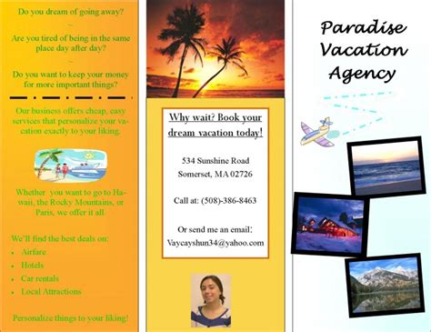 hawaii brochure template image gallery hawaii brochures exles