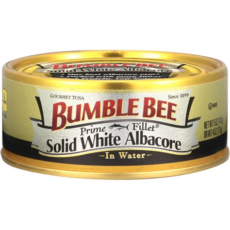 prime fillet 174 solid white albacore tuna in water bumble