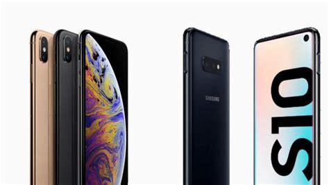 samsung galaxy   apple iphone xs  techco