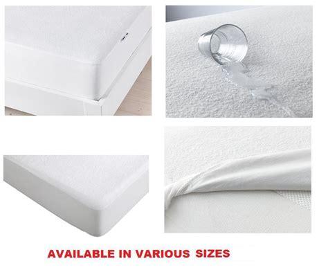 Americana Pelindung Kasur Tahan Air jual ikea gokart mattress protector 90x200 cm pelindung