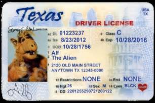 Drivers License Tx Driver S License Editable Psd Template 5