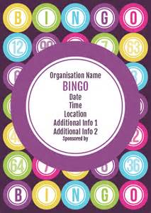 bingo flyer template ptaprintshop co uk bingo flyer 1