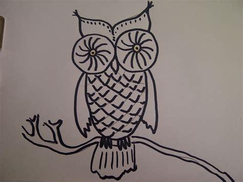 Dreidimensional Zeichnen by Eule Zeichnen Zeichnen Lernen F 252 R Kinder How To Draw An