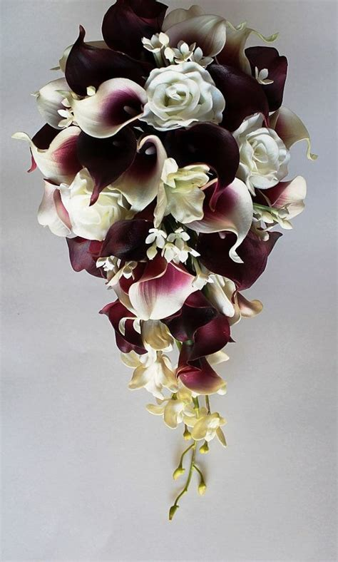 calla wedding bouquet purple calla bouquet www pixshark images