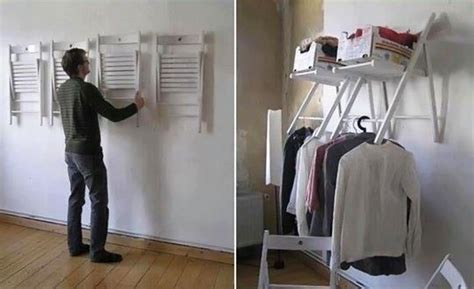 no closet no problem upcycled closet solutions