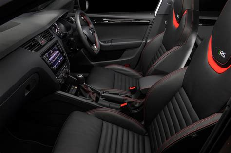 skoda octavia rs interior skoda octavia rs 230 edition on sale in australia from