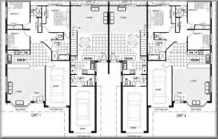 Townhouse Floor Plans Australia Australian Plan No 380 Townhouse Units 4 Units