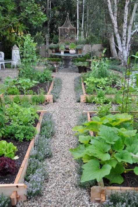 Potager Garden Layout Design Obsession The Potager Garden Gardening Planting