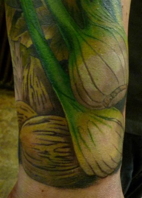 vegetable tattoos damon conklin genius seattle wa color