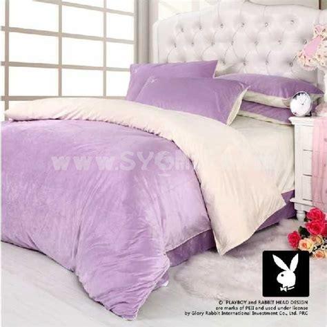 playboy bedroom set playboy 4 piece velvet bedding set sygmall