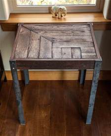 Pallet Side Table Diy Pallet Metal Steel Side Table Pallet Furniture Diy