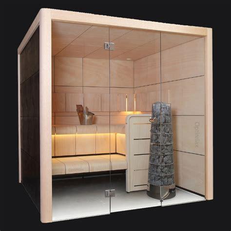 Sauna Mit Glas by Sauna Mit Glasfront Optirelax