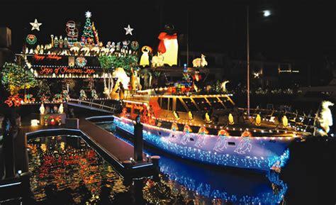 christmas boat parade newport