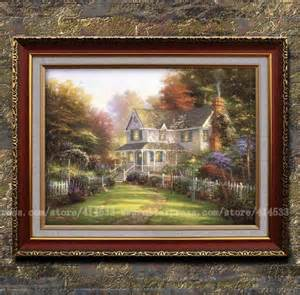 home interiors kinkade prints shop popular framed from china aliexpress