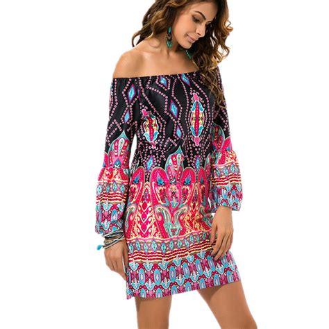 aliexpress fashion aliexpress com buy fashion bohemian summer dress print