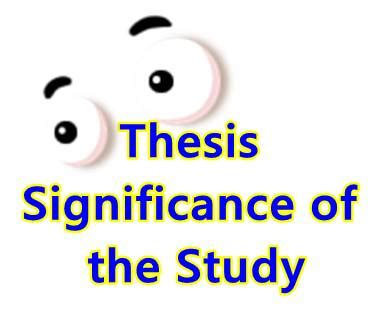 How To Make Significance Of The Study In Research Paper - thesis notes guidelines for your thesis writing