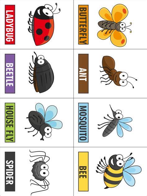 printable insect templates printable bug game