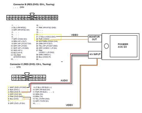 pioneer 16 pin wiring harness diagram 37 wiring diagram