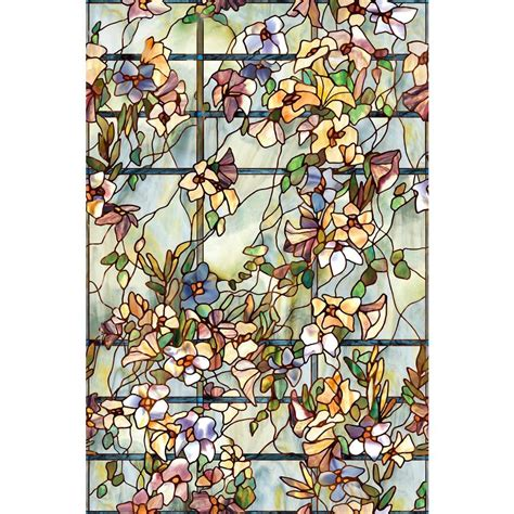 artscape 24 in x 36 in trellis decorative window 01