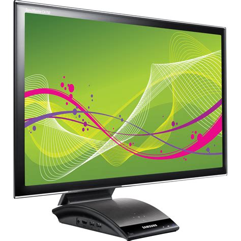 Led Monitor Laptop samsung central station 23 quot led computer monitor c23a750x