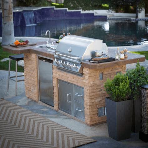 How To Build A Outdoor Kitchen Island Outdoor Kitchen Island With Sink