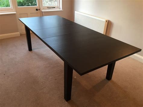 Ikea Stornas Dining Table Ikea Stornas Extendable Dining Table Brown Black Seats Up To 10 In St Albans