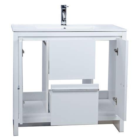 36 inch high bathroom vanity buy cbi enna 36 inch modern bathroom vanity high gloss