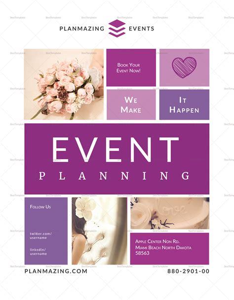 Event Planning Flyer Design Template In Psd Word Publisher Illustrator Indesign Indesign Event Flyer Templates