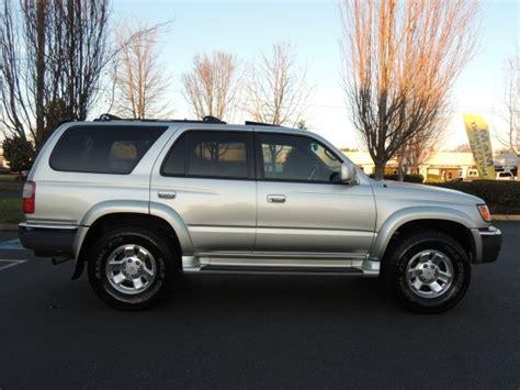 Toyota 4runner 4wd 2000 Toyota 4runner Sr5 4wd